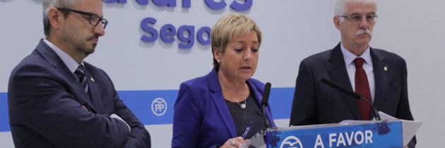 Los senadores del PP de Segovia critican el carácter lesivo del proyecto de PGE del PSOE y exigen al Gobierno responsabilidad en las obras del Palacio de Justicia