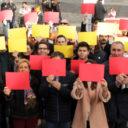 Nuevas Generaciones de Segovia difunde los valores recogidos en la Constitución con un acto presidido por un mosaico de la bandera de España