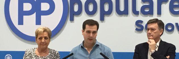Pablo Pérez lidera el proyecto del PP pa-ra la ciudad de Segovia