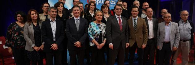 Alfonso Fernández Mañueco presenta a más de una veintena de candidatos del PP de Se-govia