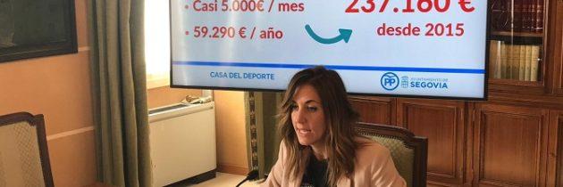 La oposición frustra la propuesta apresurada del PSOE de «montar» una Casa del Deporte a un mes de las elecciones
