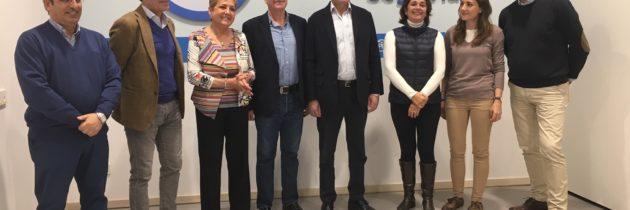 Pío García Escudero apoya las candidaturas segovianas y pide a los electores que concentren su voto en el Partido Popular