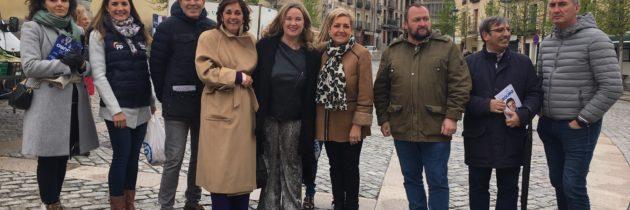 """Cristina Ayala pide a los ciudadanos que confíen su voto al PP porque """"es el único que garantiza empleo, predictibilidad y buenos servicios públicos"""""""