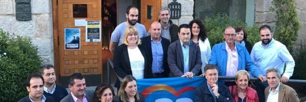 Paloma Sanz y Francisco Vázquez apoyan la candidatura del PP en El Espinar