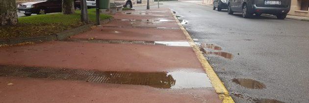 El PP en el Ayuntamiento califica de «chapuza» las últimas obras realizadas en Madrona