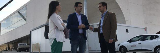 Pablo Pérez da a la alcaldesa Clara Luquero un plazo de un mes para presentar el plan de gestión del CIDE