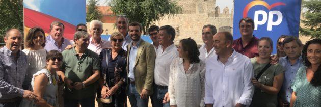 El PP de Segovia participa en la inauguración del curso político en  Ávila con Pablo Casado