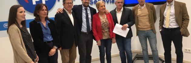 Jaime Olano apela a la concentración del voto en el PP