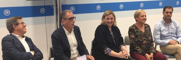 Isabel Blanco asegura que los candidatos del PP trabajarán porque llegue una mejor financiación a Castilla y León