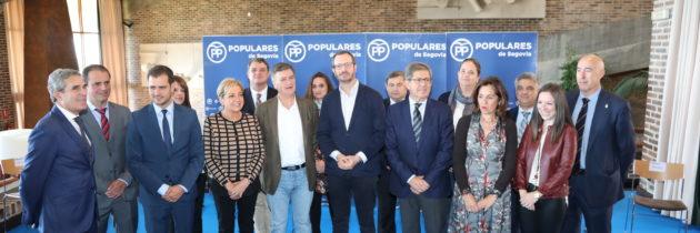 El PP presenta a los candidatos con los que pretende lograr dos diputados y tres senadores