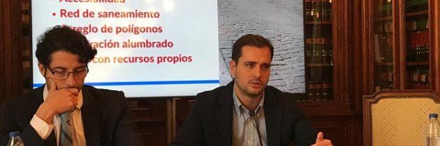 Pablo Pérez: «No son los presupuestos que van a cambiar el rumbo de la ciudad porque la dejan estancada»