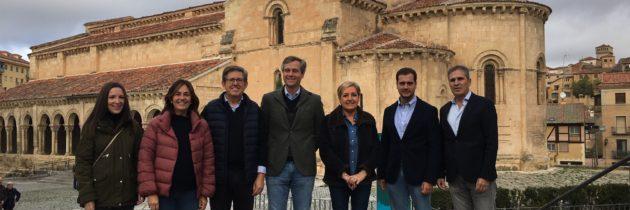 Antonio González Terol arropa las candidaturas encabezadas por Paloma Sanz y Jesús Postigo