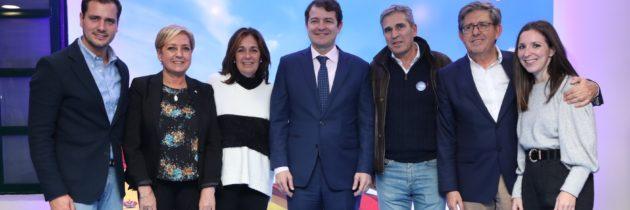 """Alfonso Fernández Mañueco: """"Queremos ser el partido más votado de la provincia de Segovia y de Castilla y León"""""""