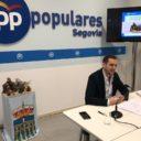 """Pablo Pérez: """"Pedimos a los Reyes Magos un cambio de prioridades en el gobierno municipal. Que piensen por fin en los segovianos"""""""