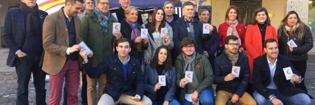 NNGG del PP defiende la Constitución Española en la conmemoración de su día