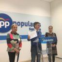 """Francisco Vázquez: """"El Partido Popular trabaja por una sanidad pública, gratuita, universal, de calidad y de proximidad"""""""
