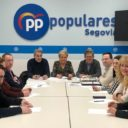 Los parlamentarios del PP comparten las reivindicaciones de la Plataforma de Usuarios del Avant