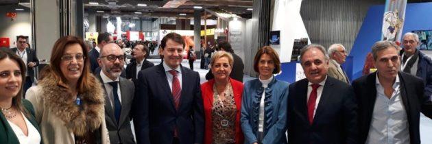 Los parlamentarios del PP muestran su apoyo al turismo de Segovia y provincia con su presencia en FITUR