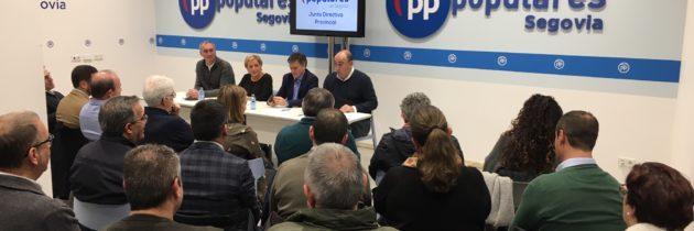 El PP de Segovia pide que las banderas ondeen a media asta en memoria por los fallecidos por el Coronavirus en esta provincia
