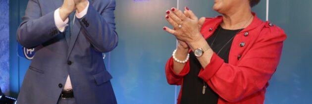 Paloma Sanz alaba el esfuerzo y dedicación de Fernández Mañueco por lograr un acuerdo que garantice la estabilidad política, económica y social de Castilla y León