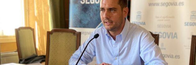 """El acuerdo de PSOE-IU y Podemos para el desarrollo de Segovia es """"un pacto de trileros"""""""
