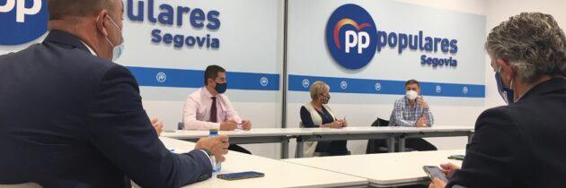 El PP de Segovia pide al Gobierno defender el orden constitucional