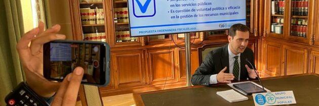 Los datos demuestran cómo los segovianos están pagando la desmesurada presión fiscal del PSOE