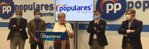 El PP de Segovia traslada a Pablo Casado su enhorabuena