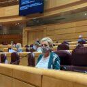 La senadora Paloma Sanz reprocha a Illa que vuelva a llegar tarde en la compra de material sanitario