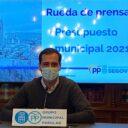 """Pablo Pérez: """"Los presupuestos del PSOE para el 2021 son un engaño para los segovianos, sin ayudas económicas, ni sociales, ni rebajas fiscales"""""""