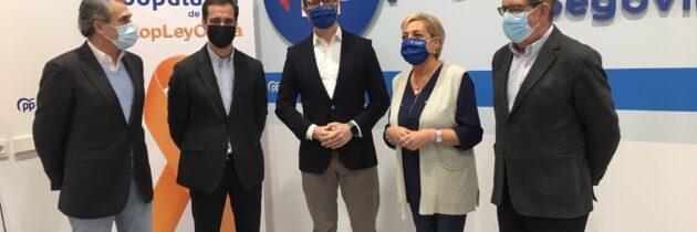 Los parlamentarios nacionales del PP exigen a sus homólogos socialistas que aclaren si están con Ferraz o con los segovianos