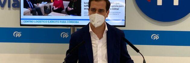 La alcaldesa y el PSOE atacan al PP para ocultar su inacción con el Centro Logístico del Ejército