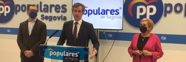 Antonio González Terol participa en la reunión de la Junta Directiva del PP de Segovia