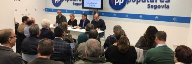"""El PP de Segovia muestra su """"total apoyo"""" a Alfonso Fernández Mañueco y al Gobierno de la Junta"""