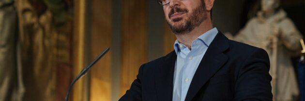 """Maroto: """"Con Sánchez los Fondos Europeos son como el 'día de la marmota', siempre el mismo rollo y nunca explica la cuestión"""""""