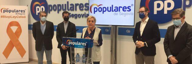 El PP lamenta el nuevo varapalo del Gobierno a la provincia de Segovia y exige medidas de manera inmediata