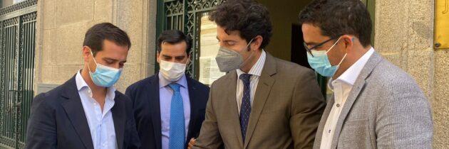 """Pablo Pérez: """"Queremos acabar con las corruptelas y la red clientelar creada por el PSOE en estos 18 años al frente del Ayuntamiento"""""""