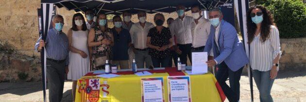 El PP de Segovia recoge cerca de 1.000 firma contra los indultos