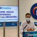 """Pablo Pérez: """"Abandonamos la mesa de trabajo de la estación porque no vamos a permitir que el PSOE manipule a su antojo un proyecto de ciudad como este"""""""
