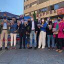 Jaime de Olano, Paloma Sanz y Javier Maroto presentan las medidas del PP para bajar el precio de la luz