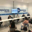 El PP de Segovia celebra un encuentro con Isabel Blanco y pone en valor los servicios sociales de Castilla y León y el trabajo del PP en la Junta